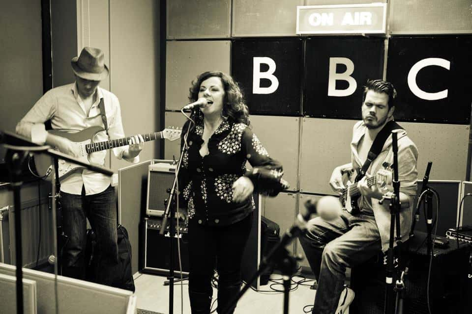 Sophie Garner at the BBC